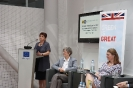 Discussion in the EU House, Vienna on GB in Europe with Dr Melanie Sully et al